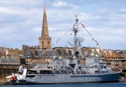 Saint-Malo : Escale de la FASM TOURVILLE