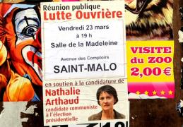 Elections Présidentielles 2012  : Cela ne s' invente pas  !