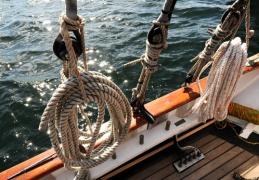 Saint-Malo : Escale du yawl La Grande Hermine