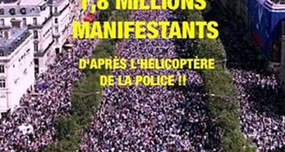Paris : La Manif Pour Tous … 1,8 million !