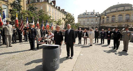 Rennes –  Cérémonies commémoratives du 70° Anniversaire de la Libération – 2