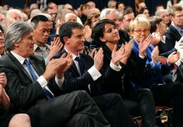 Elections départementales :  Manuel Valls à Betton