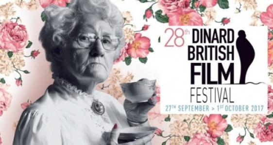 Dinard  : Affiche du 28° Festival du Film Britannique