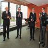 Saint-Brieuc : Cérémonie de départ de Laurent Dufour  DDSP  des Côtes d'Armor