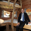 Domaine des Ormes : visite de Jean-Yves Le Drian  ministre de l'Europe et des Affaires Etrangères