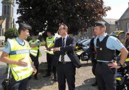 Saint Vran :  Opération de contrôles routiers