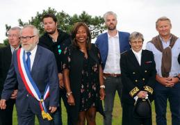 Pléneuf Val André : Laura Flessel Ministre des Sports