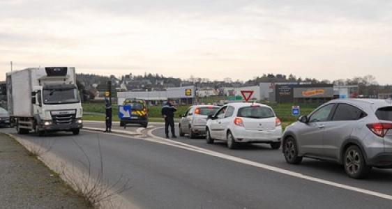 Côtes d'Armor :  Covid 19 – renforcement des contrôles routiers
