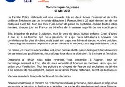 Avignon: La Famille Police Nationale est une nouvelle fois en deuil