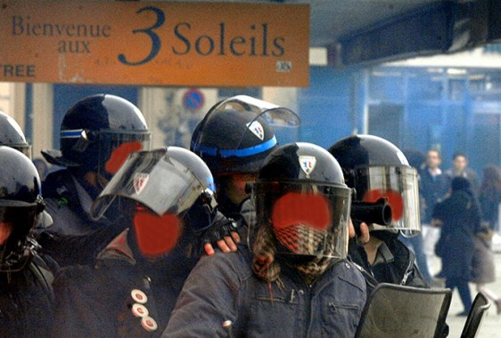Rennes-6-2-Police-BAC-3 Photo Patrick Desjardins  ©
