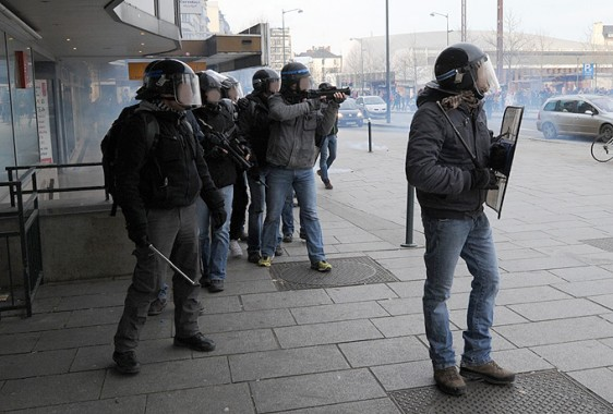 Rennes-6-2-Police-BAC-4 Photo Patrick Desjardins  ©