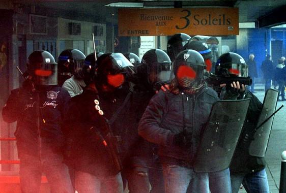 Rennes-6-2-Police-BAC-5 Photo Patrick Desjardins  ©