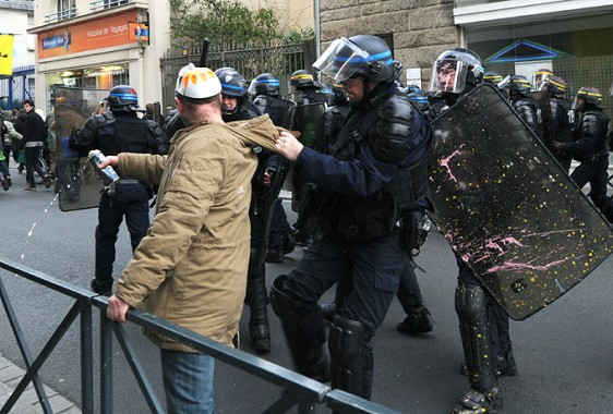 Rennes-6-2-Police-Tonf-6 Photo Patrick Desjardins  ©