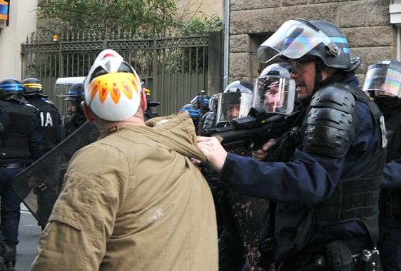 Rennes-6-2-Police-Tonf-9 Photo Patrick Desjardins  ©