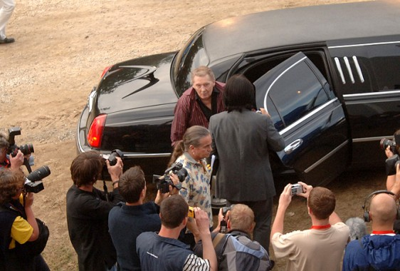 arrivee Jerry Lee Lewis 2-Photo-Patrick -Desjardins-©