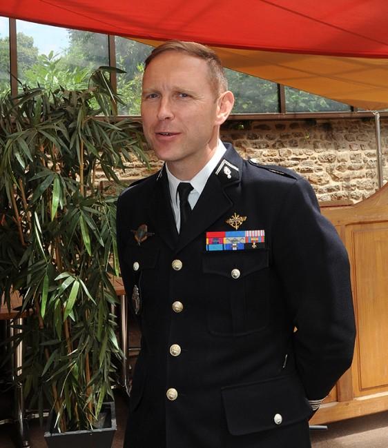 Les-Ormes-Colonel Xavier Lesueur - photo Patrick Desjardins ©