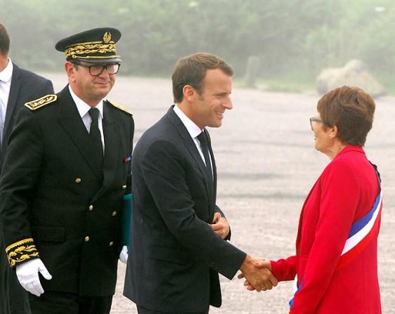 Cap-Frehel-1--Emmanuel-Macron Photo Patrick Desjardins ©