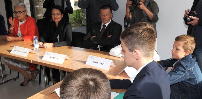 Ministre----jeunes-2 Photo-Patrick -Desjardins-©
