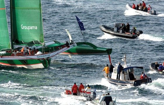 16-Route Groupama 3 -Photo-Patrick -Desjardins-©