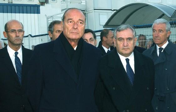 Jacques Chirac - St Nazaire -16-11-2003 - photo-Patrick-Desjardins-©