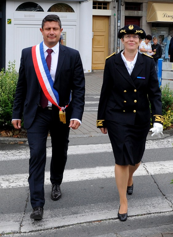 Dominique-Laurent - Philippe Le Goff -Maire-Ghuingamp